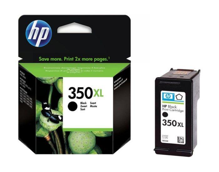 HP 350XL Bläckpatron Svart