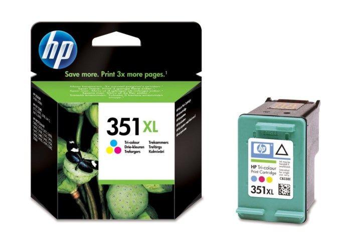 HP 351XL Bläckpatron Flera färger