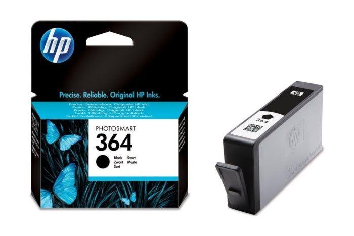 HP 364 Bläckpatron Svart
