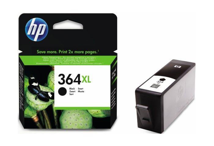 HP 364XL Bläckpatron Svart