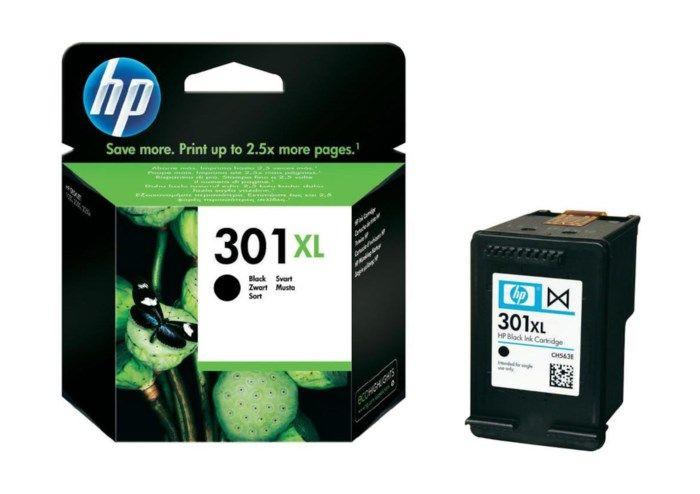 HP 301XL Bläckpatron Svart