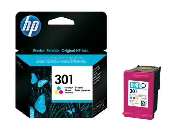 HP 301 Bläckpatron Flera färger