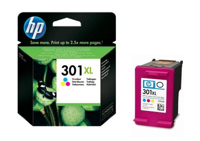 HP 301XL Bläckpatron Flera färger