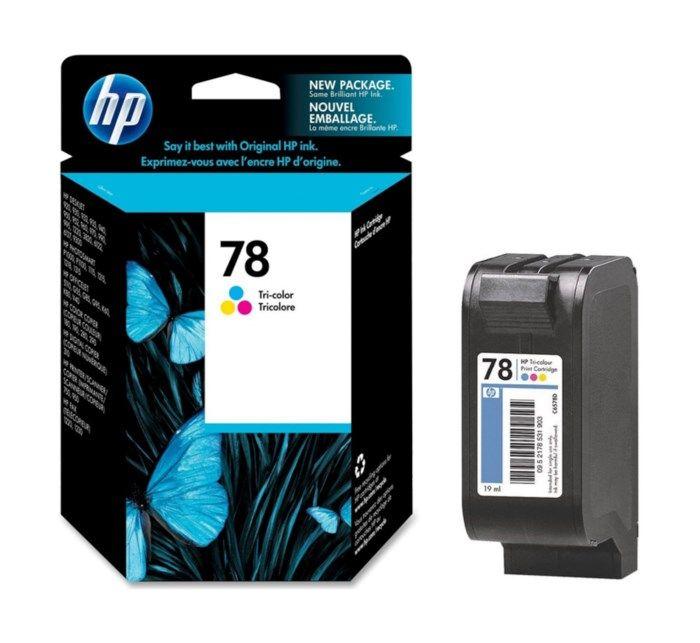 HP 78 Bläckpatron Flera färger