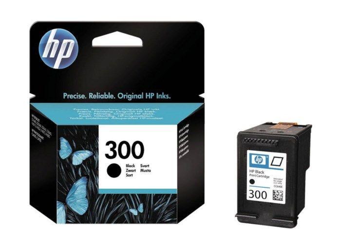 HP 300 Bläckpatron Svart