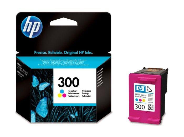 HP 300 Bläckpatron Flera färger