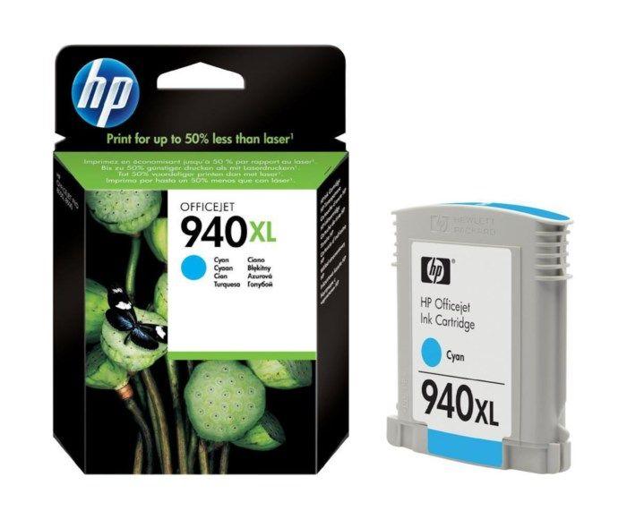 HP 940XL Bläckpatron Cyan