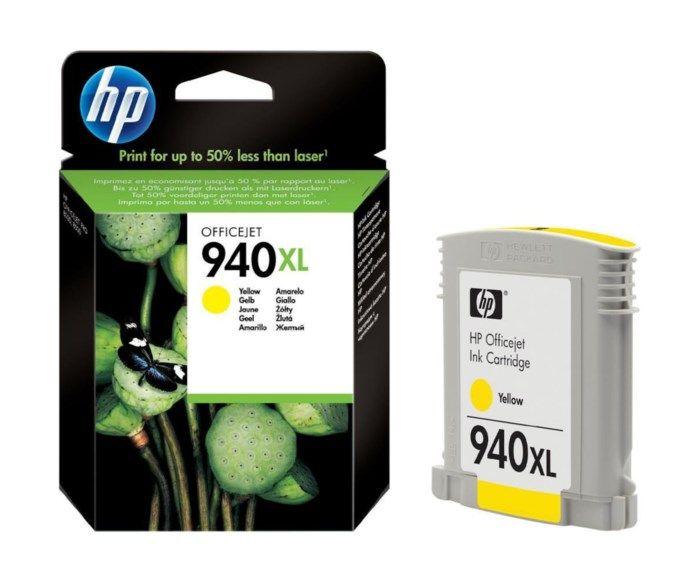 HP 940XL Bläckpatron Gul