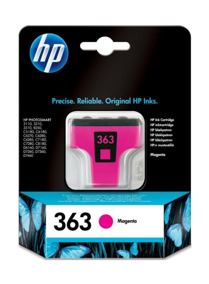HP 363 Bläckpatron Magenta