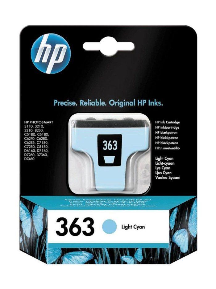 HP 363 Bläckpatron Ljus cyan