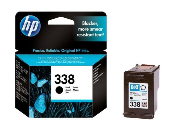 HP 338 Bläckpatron Svart