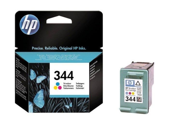 HP 344 Bläckpatron Flera färger