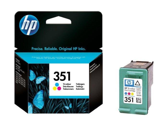 HP 351 Bläckpatron Flera färger