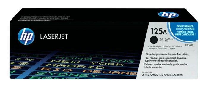 HP Toner 125A Svart