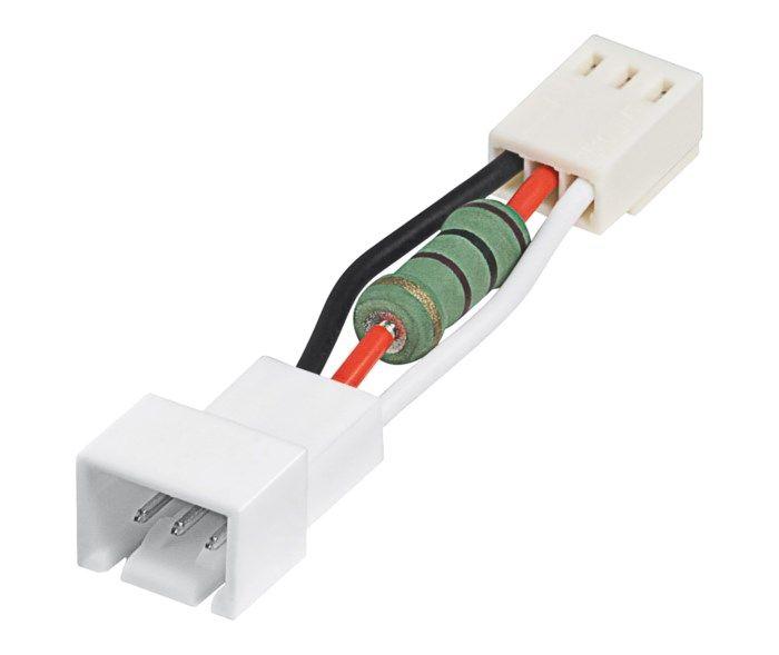 Hastighetsdämpare för fläkt 12 V till 5 V