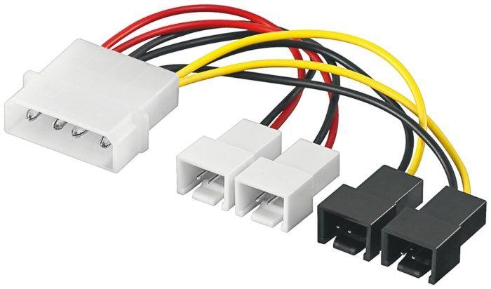 Adapterkabel för fläktar 4-pin Molex