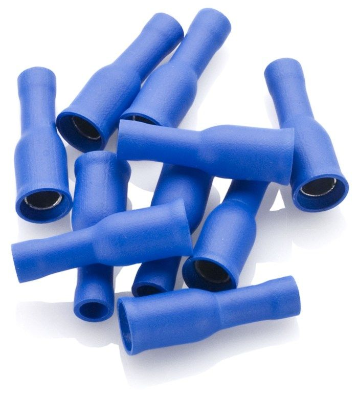 Blå rundstifthylsa 10-pack