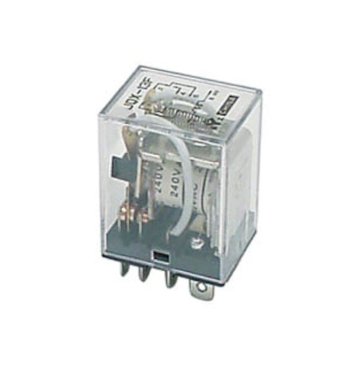 2-poligt relä 240 V AC 10 A / 250 V