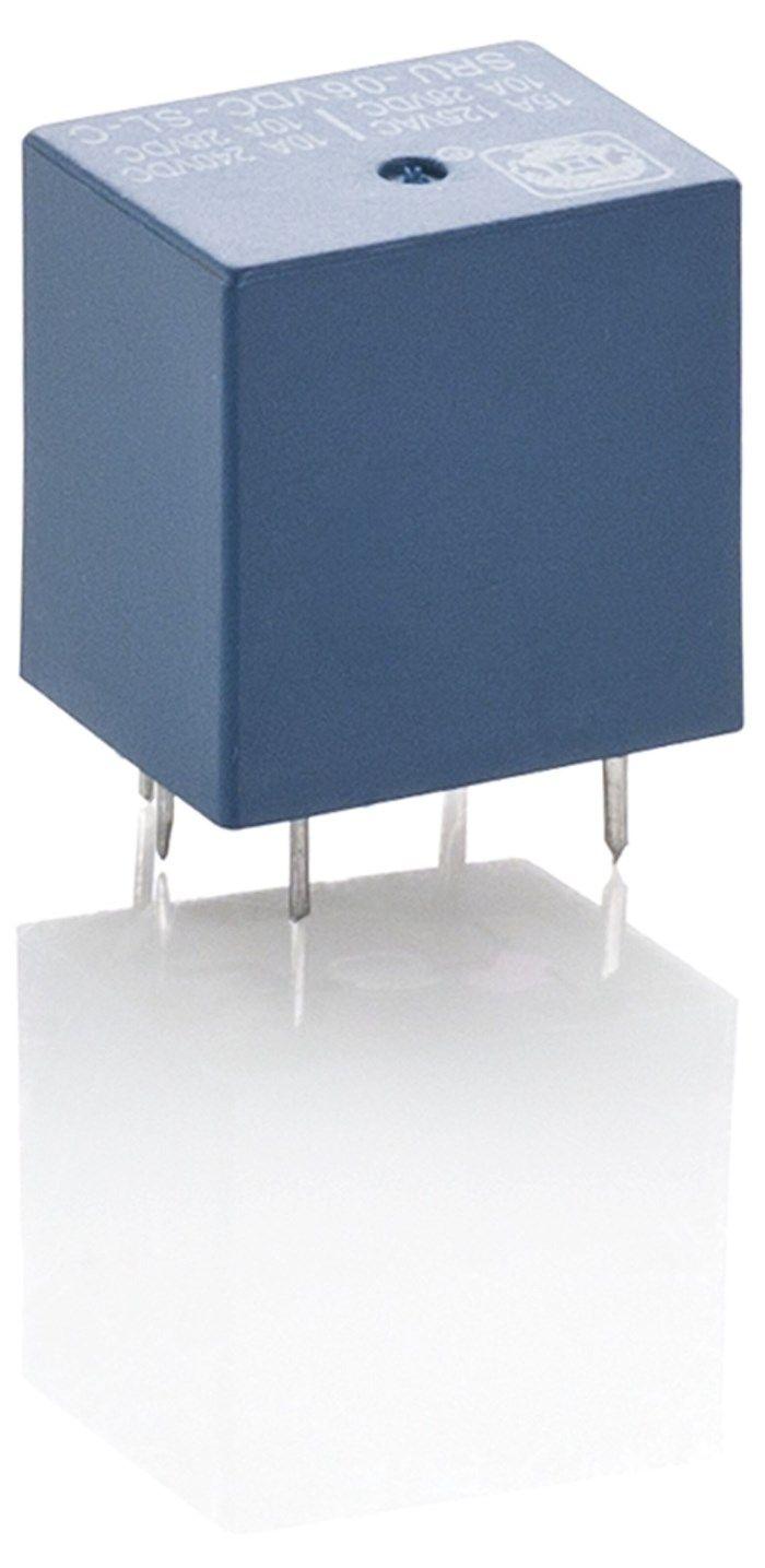 1-poligt relä 6 V DC 7 A / 230 V