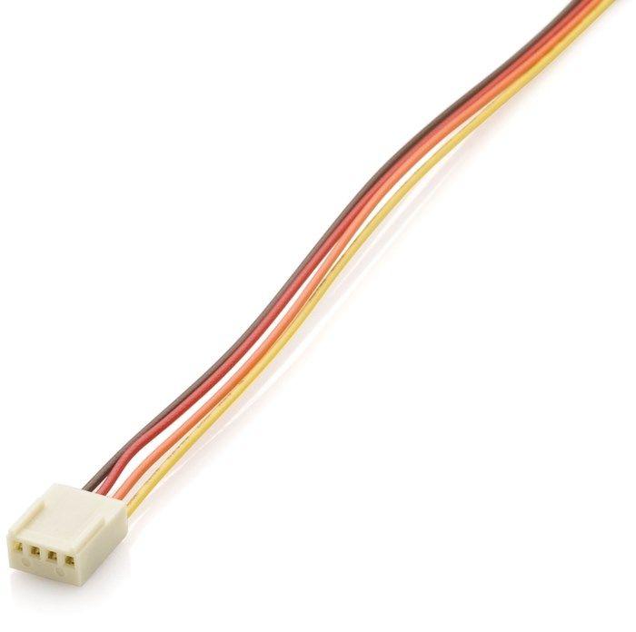 Kretskortskontakt med kabel 4-polig