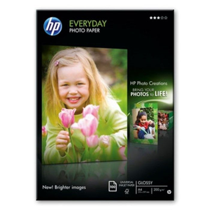 HP Everyday Fotopapper A4 100-pack
