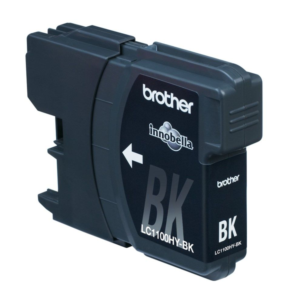 Brother LC1100HYBK Blekkpatron Svart