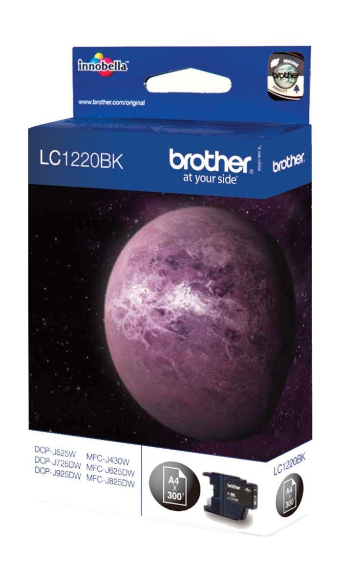 Brother LC1220BK Bläckpatron Svart