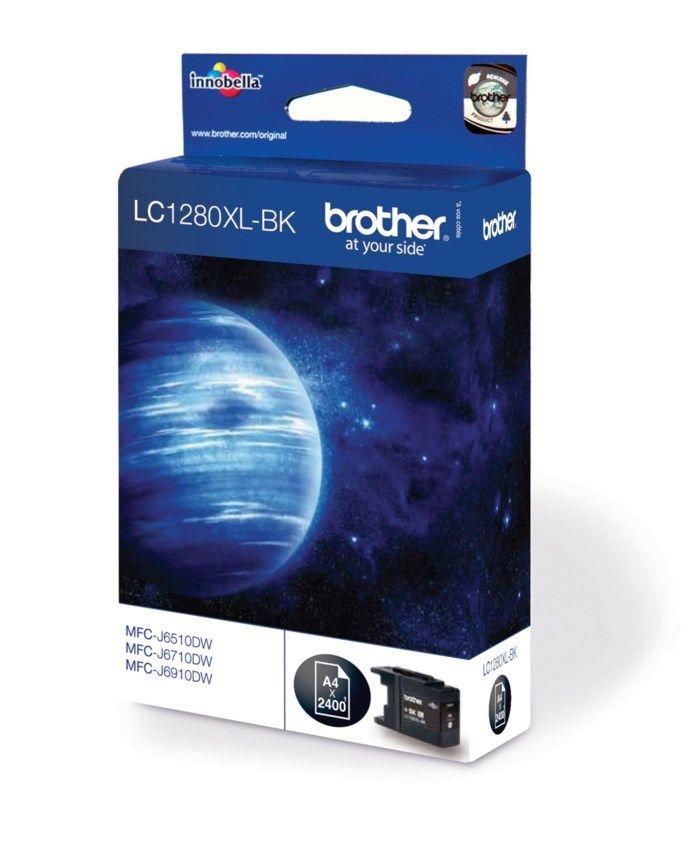 Brother LC1280XLBK Bläckpatron Svart
