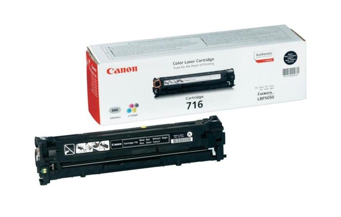 Canon Toner 716BK Svart