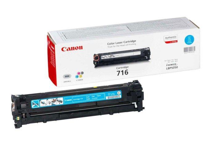 Canon Toner 716C Cyan