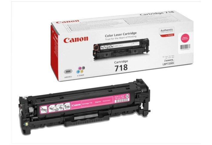 Canon Toner 718M Magenta