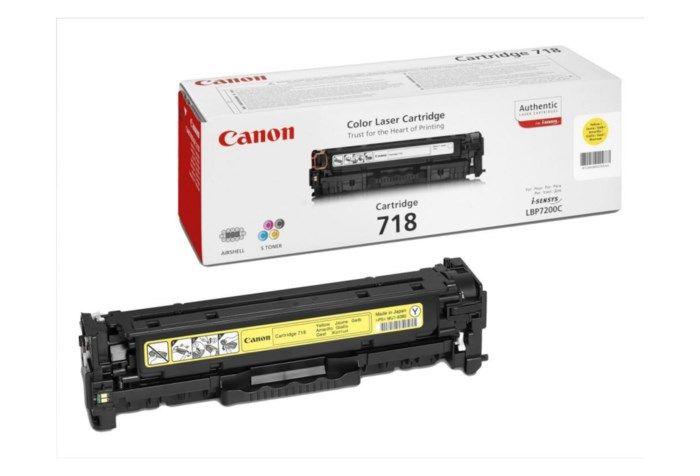 Canon Toner 718Y Gul