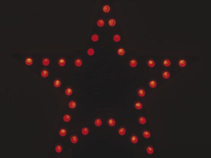 Velleman Röd LED-stjärna Byggsats