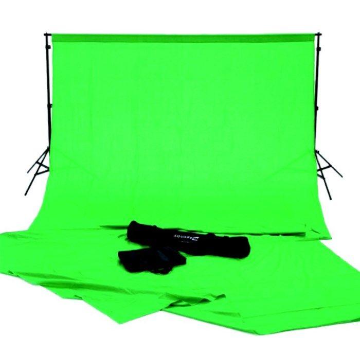 Greenscreen 2x3 m - med stativ