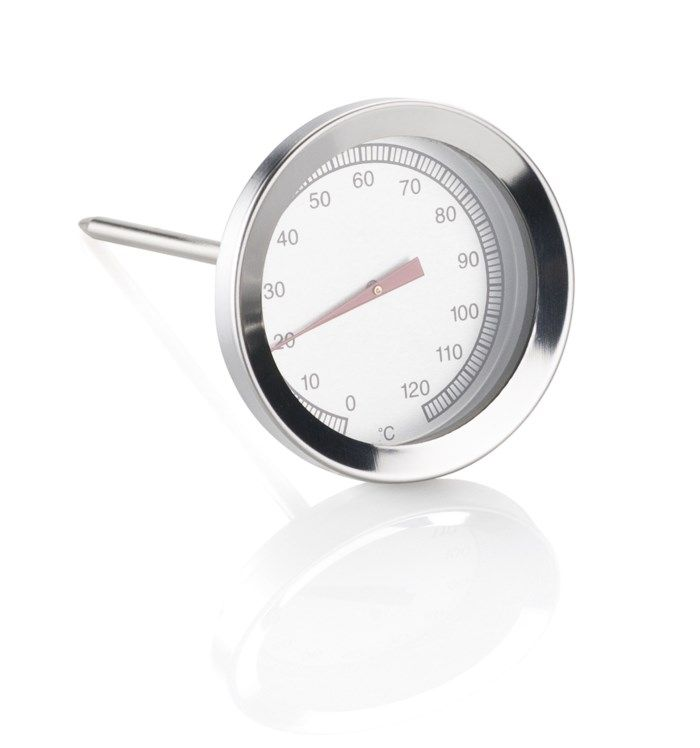 Stektermometer med visare