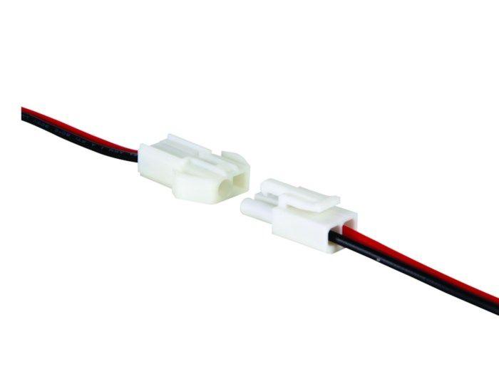 Kontaktpar med kabel 2-poligt
