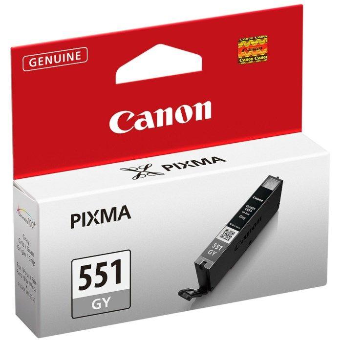 Canon CLI-551GY Bläckpatron Grå