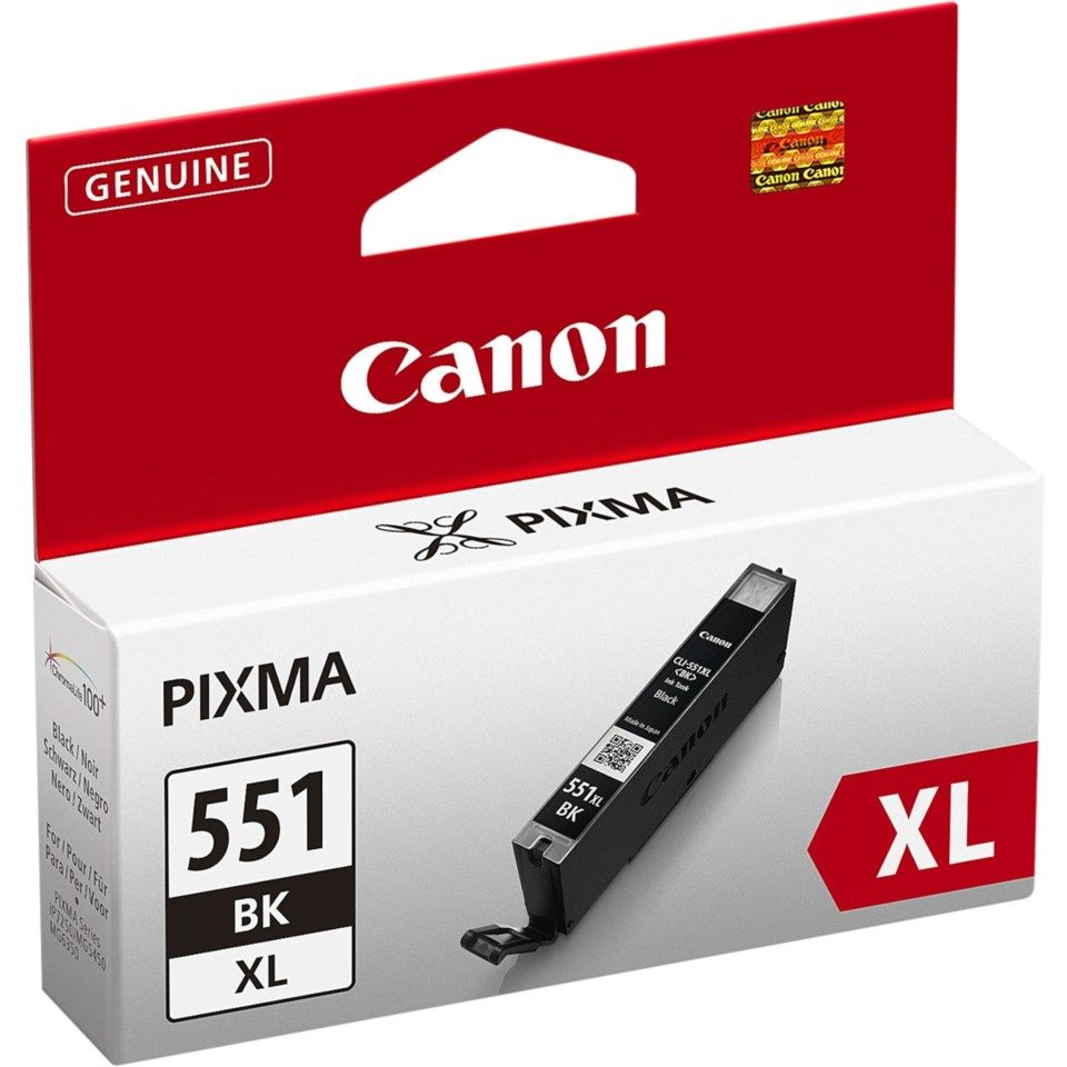 Canon CLI-551BK XL - PH Svart