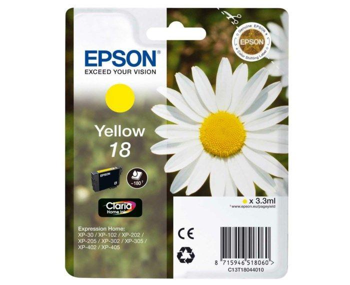 Epson T1804 Bläckpatron Gul