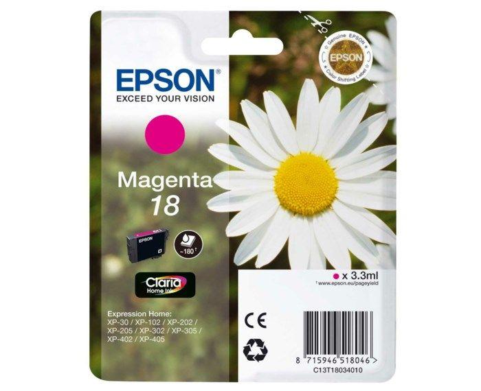 Epson T1803 Bläckpatron Magenta