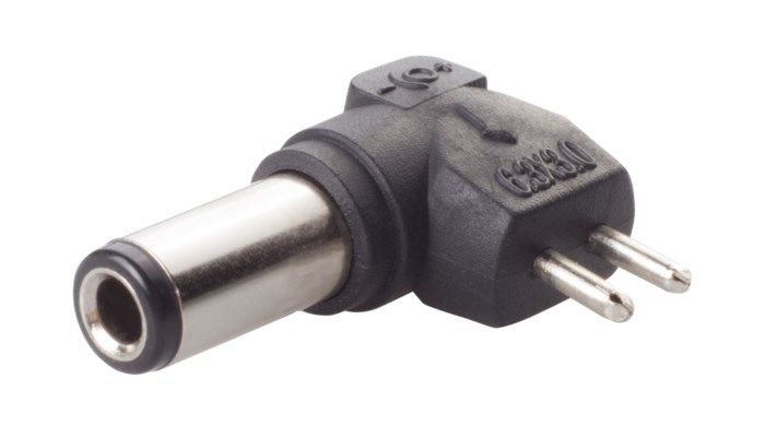 DC-plugg typ Q 6,3×3,0 mm