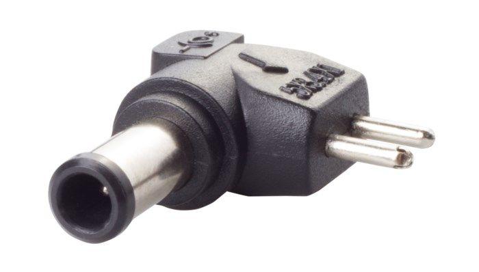 DC-plugg typ U 5,0x3,4 mm med stift
