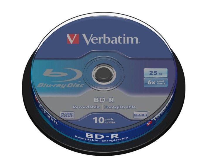 Verbatim Blu-ray-skivor 10-pack