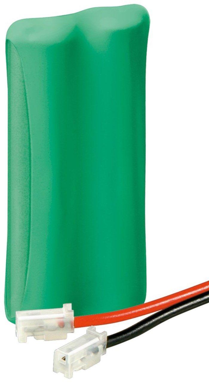 NiMH 2xAAA-batteri 2,4 V 650 mAh