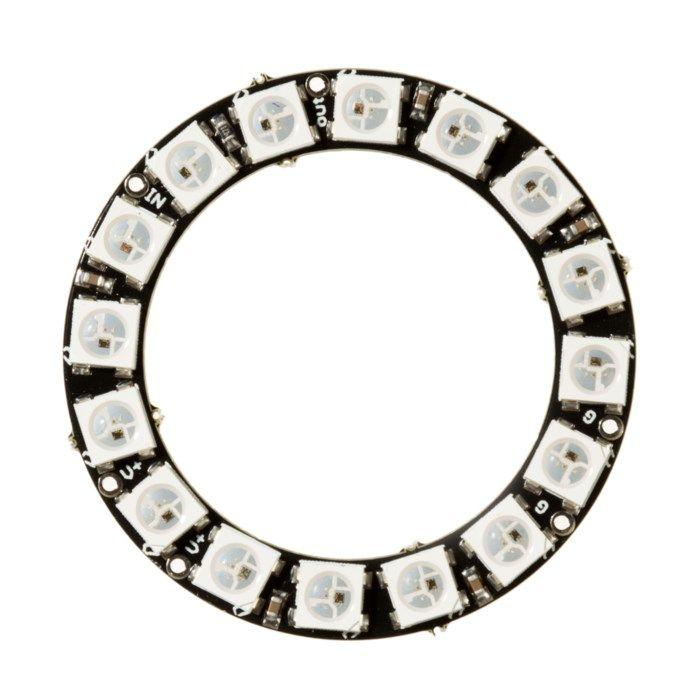 Luxorparts Adresserbar RGB LED-ring 16x LED