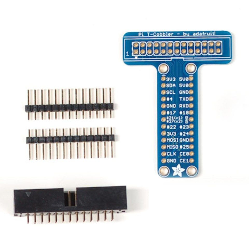 Luxorparts 26-pins breakout-kit for Raspberry Pi