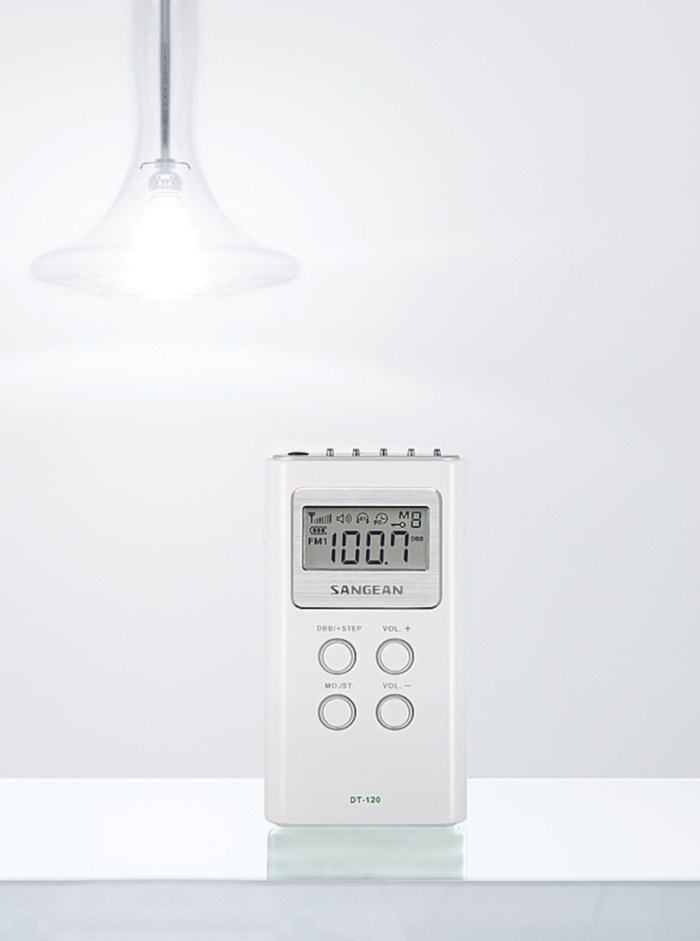 Sangean DT-120 II FM-radio med digital tuner