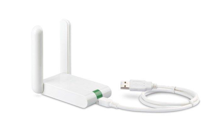TP-link Trådlöst USB-nätverkskort 300 Mb/s high-gain