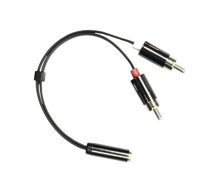 Adapterkabel RCA till 3,5 mm