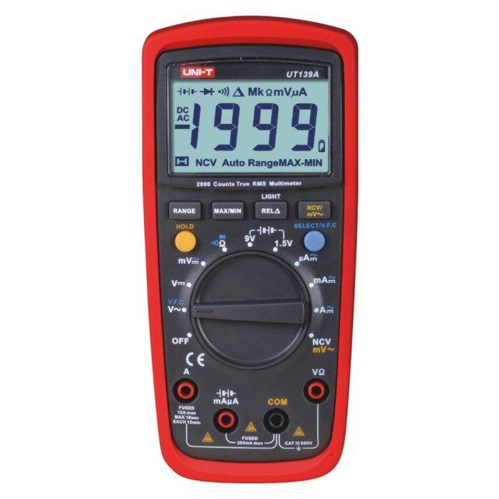 Uni-T UT139A Multimeter